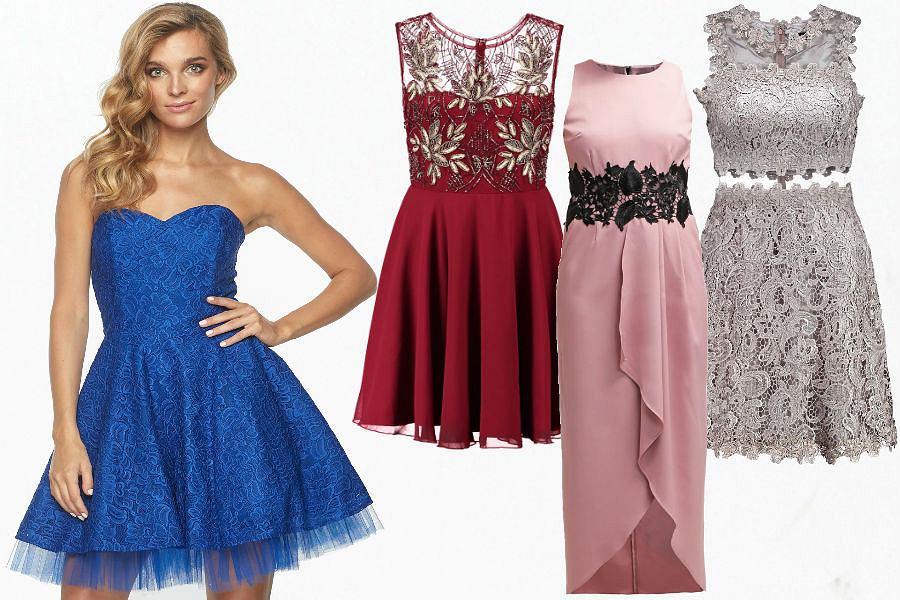 13fed74918 Najładniejsze suknie i sukienki na imprezy - przegląd