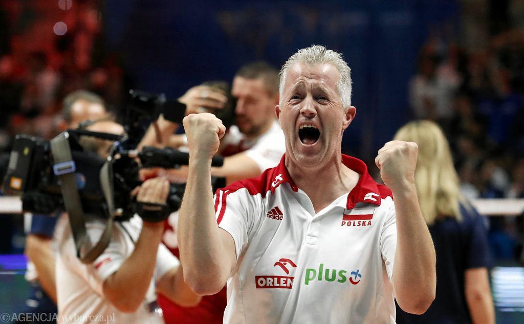 Vital Heynen po meczu Polska - Brazylia, zwycięskim finale mundialu siatkarzy