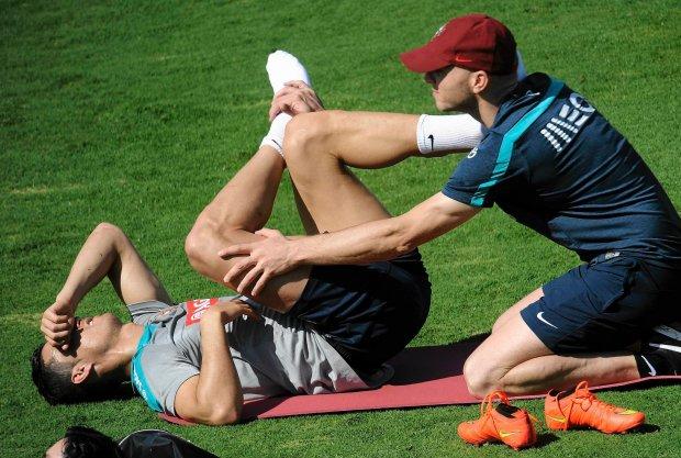 Mistrzostwa �wiata w Pi�ce No�nej 2014. Cristiano Ronaldo opu�ci� wcze�niej trening