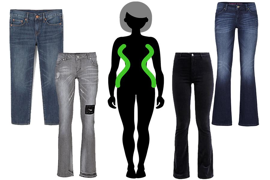 Idealny jeansy dla Klepsydry