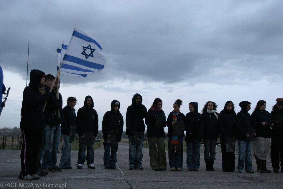Wycieczka młodzieży izraelskiej w Polsce
