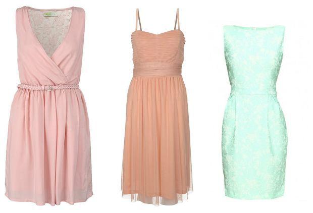 Sukienki pastelowe