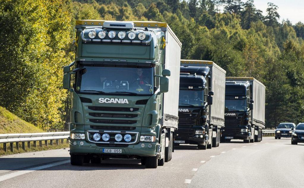 Scania autonomiczne ciężarówki