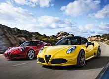 Alfa Romeo 4C - sportowa Alfa odmłodzona, ale bez skrzyni ręcznej