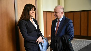 Sędzia Justyna Koska-Janusz przed ogłoszeniem wyroku