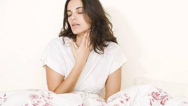 Grzyby atakujące przełyk w  większości przypadków powodują zmiany chorobowe w żołądku oraz jelitach