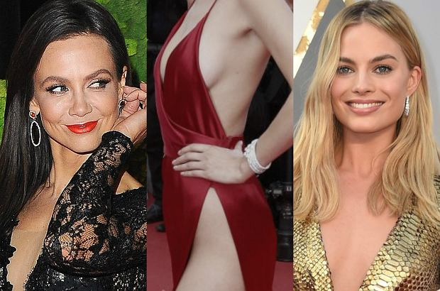 Zdjęcie numer 0 w galerii - W tym roku gwiazdy na czerwonym dywanie pokazywały DUŻO. Pamiętacie koronkową suknię Rusin? To nic przy TEJ