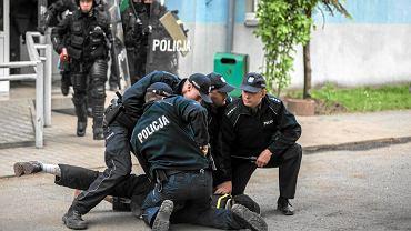 Po śmierci Igora we Wrocławiu doszło do gwałtownych zamieszek i starć z policją