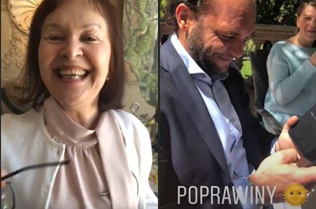 Doda nagrała film, w którym pokazała, jak wraz z mężem, Emilem Stępniem, i zaproszonymi gośćmi spędzają poprawiny.