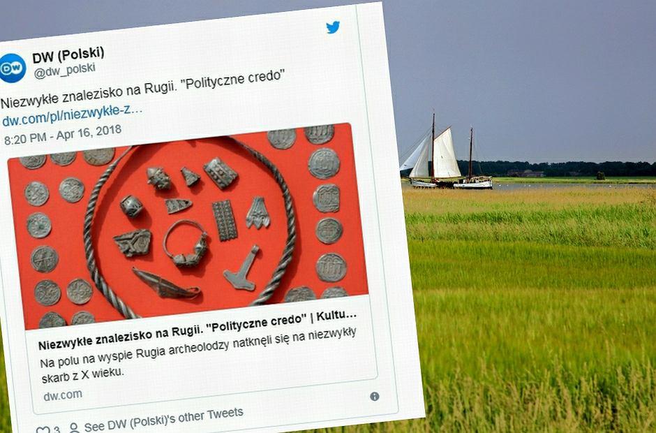 Skarb znaleziony na wyspie Rugia