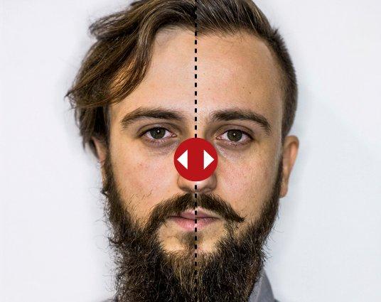 Metamorfozy - Brody przed i po strzyżeniu