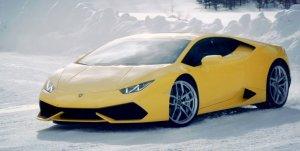 Wideo | Zimowa szkoła jazdy Lamborghini