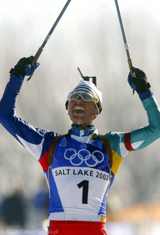 Ole Einar Bjoerndalen, Salt Lake City, 2002 r.