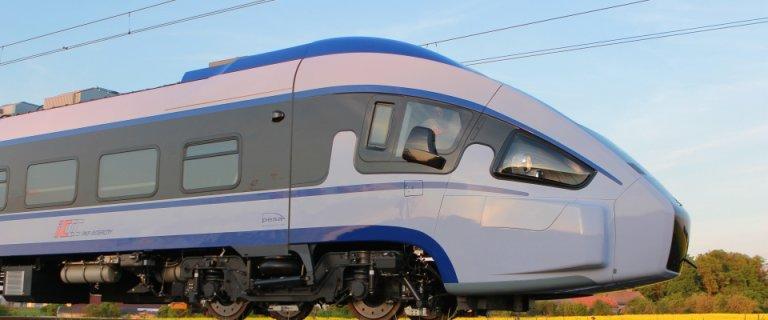 Dart, najnowszy pociąg Pesy przechodzi już testy. W grudniu wyjedzie na tory