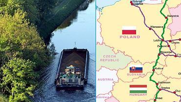Unia Europejska chce systemu żeglugi śródlądowej
