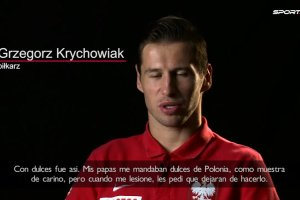 """Krychowiak a Sport.pl: Otro dia, cuando me lesione otra ves, regrese a casa y dije a mi novia: """"Se acabo?. Agarre todos los dulces y los tire a la basura"""