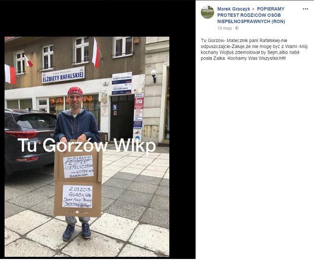 Akcja wspierająca protest rodziców w Sejmie