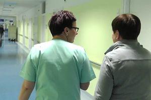 Beata Szydło odwiedziła oficera BOR rannego w wypadku samochodowym