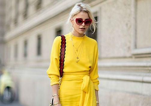 Żółte sukienki na lato