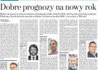 Dobre prognozy na nowy rok. Komentarz Macieja Górki dla gazety Metro.