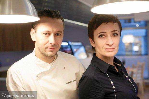 Marta i Mariusz Pieterwas, właściciele Restauracji Pieterwas