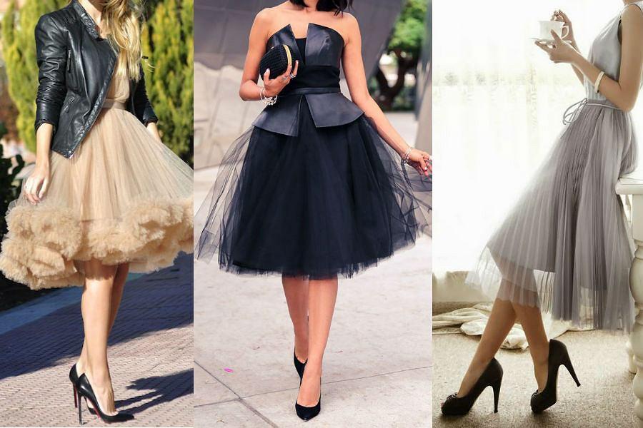 80c0cc4e96 Tiulowe sukienki znów w modzie - poczuj się jak księżniczka!