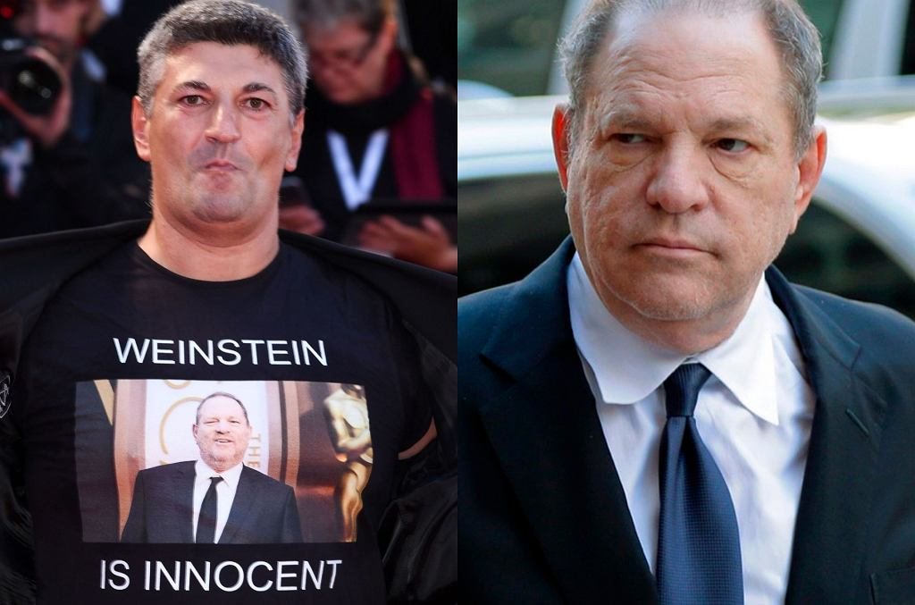 Luciano Silighini Garagnani, Harvey Weinstein