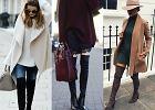 Kozaki za kolano - do czego nosić jesienią?