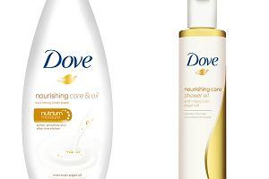 Zmyj z siebie suchą skórę nowa linia Dove - Odżywcza Pielęgnacja z Marokańskim Olejkiem Arganowym