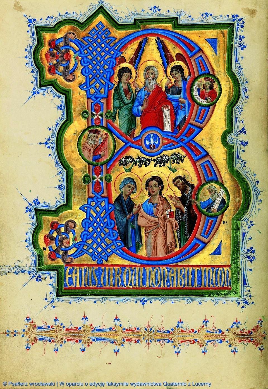 Psałterz wrocławski to nieznany skarb z XIII wieku