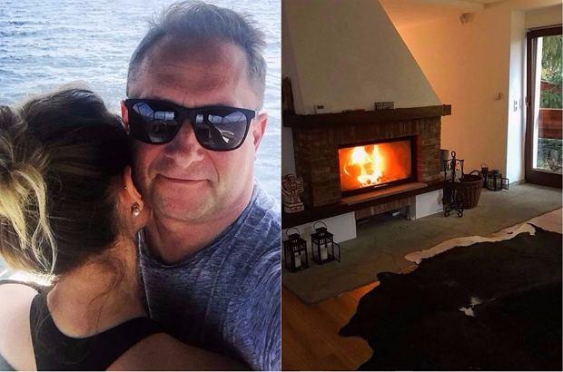Zdjęcie numer 0 w galerii - Tak mieszka Kamil Durczok i jego młodsza o 22 lata partnerka. Najlepsze? Zdecydowanie kolorowy fotel!