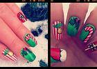 Pomys� na manicure: Coraz bli�ej �wi�ta