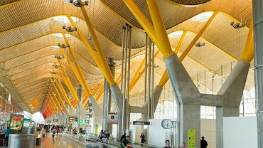Terminal Barajas, Madryt / fot. Shutterstock