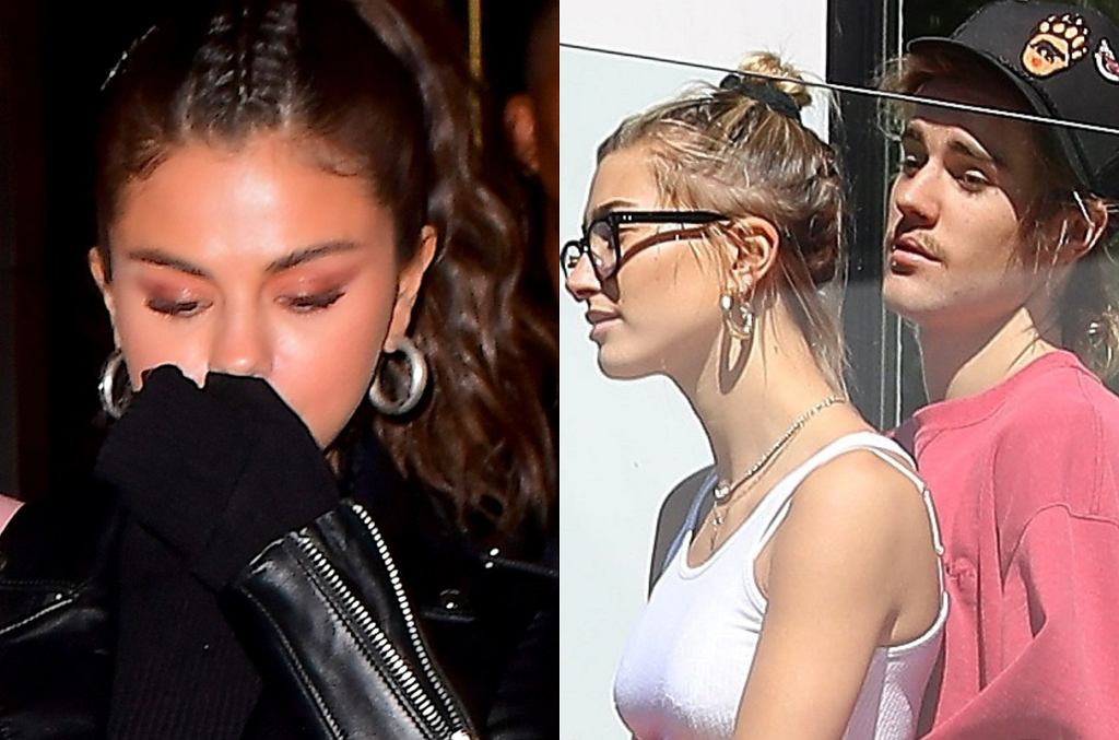 Selena Gomez, Justin Bieber i Hailey Baldwin