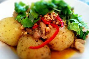 Tajskie curry z kurczaka - smaczna regeneracja!