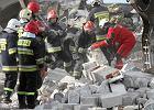 Dwie osoby zatrzymane w sprawie katastrofy budowlanej w Wa�brzychu