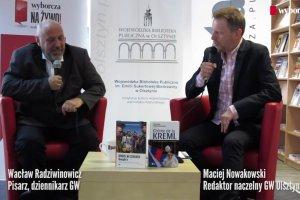 """Gazeta pisarzy:  Wacław Radziwinowicz w Olsztynie: """"Ja nie uważam się za pisarza"""""""