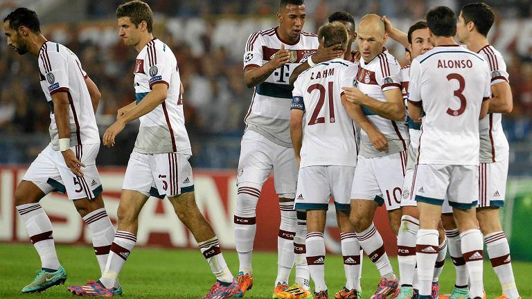 Liga Mistrzów. Bayern rozgromił Romę, gol i asysta ...