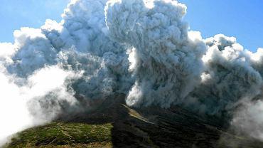 Erupcja wulkanu Ontake