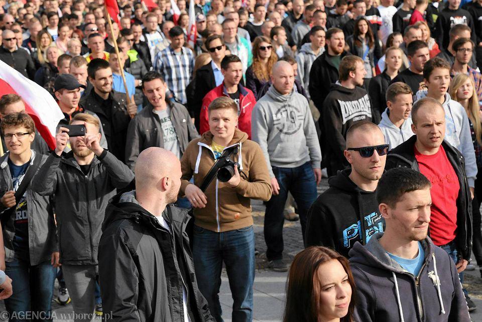 Antyimigrancki marsz w Białymstoku