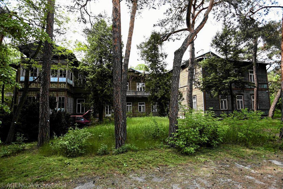 Sanatorium Abrama Gurewicza W Otwocku świdermajer Dla Wytwornych