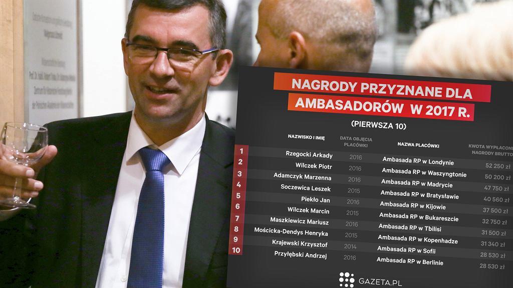 Nagrody dla ambasadorów, źródło: Gazeta.pl, MSZ.gov.pl