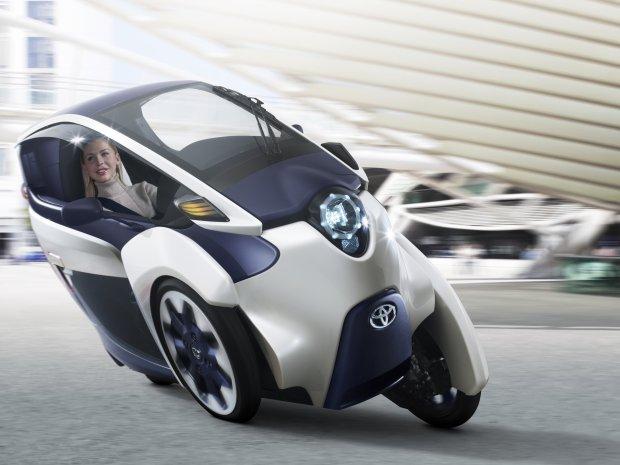 """Toyota """"i-ROAD"""" ma zrewolucjonizowa� transport"""