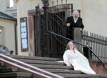 """Marsz �ycia w Kielcach. J�ki b�lu porodowego przed katedr�. """"Dobrze, �e nie usun�a� ci��y"""""""