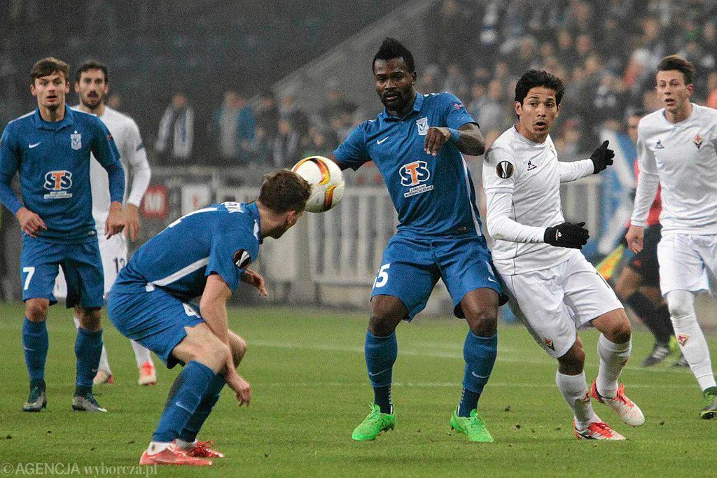 Lech Poznań - Fiorentina 0:2 w Lidze Europejskiej. Abdul Tetteh