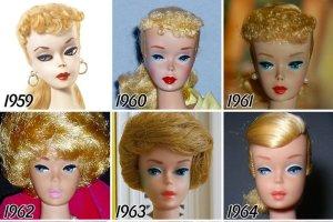 Liftingi, operacje nosa... jej wolno! Barbie zmienia się wraz z obowiązującym kanonem piękna
