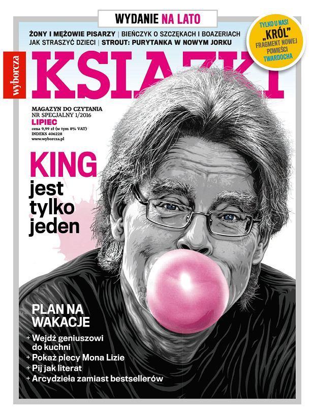 """""""Książki. Magazyn do Czytania"""": wakacyjny numer w sprzedaży od 21 czerwca. Strout, King, Pratchett, Twardoch..."""