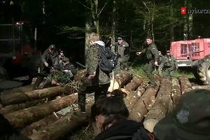 """Lasy Państwowe przepraszają za """"ma być ból"""""""