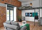 Małe mieszkanie w dawnej fabryce papieru