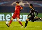 Robert Lewandowski w meczu Bayern - Dinamo